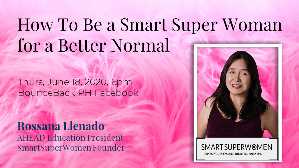 How to be a Smart Super Woman for the Better Normal